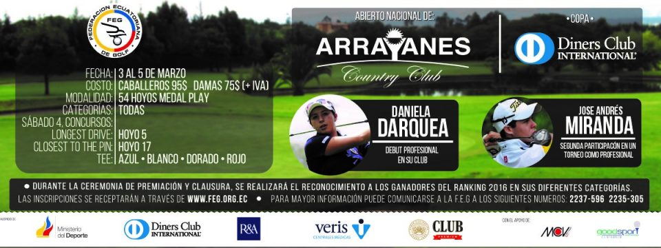 Abierto Nacional de Arrayanes Country Club